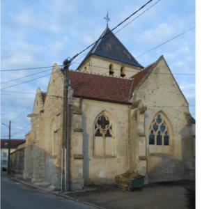 Église Saint-Etienne, Boissy-Fresnoy (Oise)