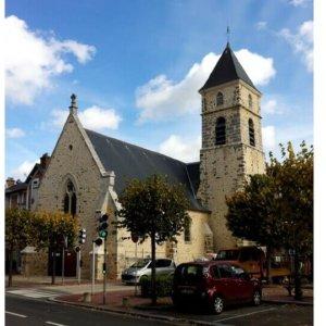 Église Saint-Éloi, le Perray-en-Yvelines (Yvelines)