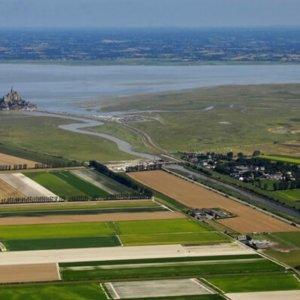 Étude des secteurs d'urbanisation en baie du Mont-Saint-Michel (Manche)
