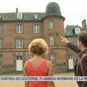 Octobre 2014 – France 3 Midi en France du 23 octobre 2014 «Le château de Couterne, flambeau normand de la renaissance»