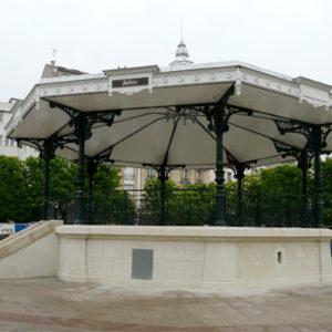 Kiosque à Musique, Clichy-la-Garenne (Hauts-de-Seine)