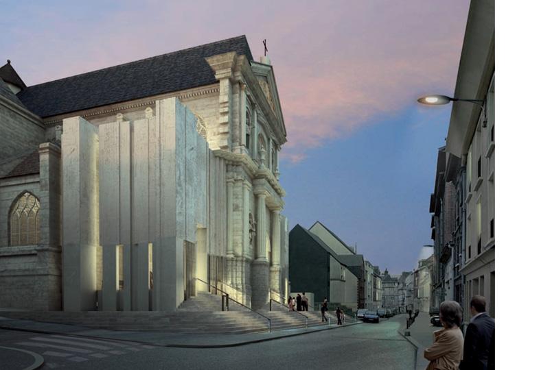 chapelle du lyc e corneille rouen seine maritime 1090 architectes. Black Bedroom Furniture Sets. Home Design Ideas