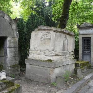 Tombeau d'Elisa Mercœur, Paris XX