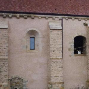 Grange cistercienne d'Oudun, Joux-la-Ville (Yonne)