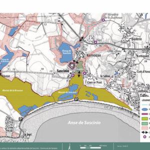 Aménagement des espaces publics du domaine de Suscinio, Sarzeau (Morbihan)