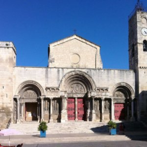 Eglise abbatiale, Saint-Gilles-du-Gard (Gard)