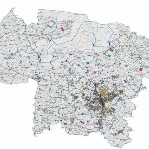 Etude urbaine et environnementale pour le PLU, Communauté Urbaine d'Alençon (Orne)