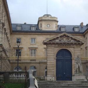 Collège de France, Pavillon Nord et édicule central, Paris Ve