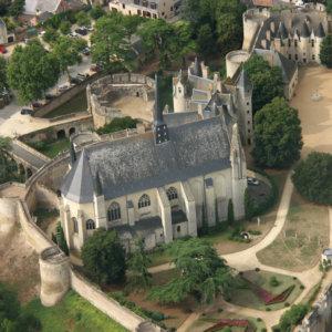Collégiale Notre-Dame, Montreuil-Bellay (Maine-&-Loire)