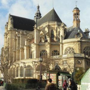 Aménagement et mise en accessibilité de l'église Saint-Eustache, Paris I