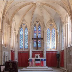 Église Notre-Dame (MH), Cricqueville-en-Bessin (Calvados)