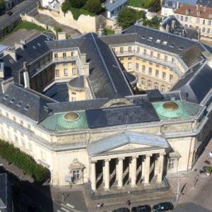 Ancien palais de justice place Fontette, Caen (Calvados)