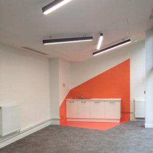 Réaménagement de bureaux, boulevard Malesherbes, Paris XVII (75)